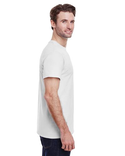 White Adult Heavy Cotton 5 3 Oz T Shirt By Gildan Let